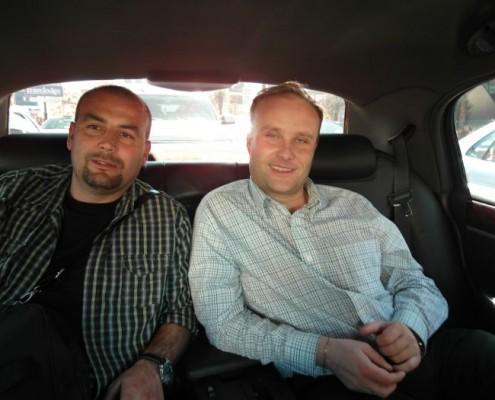 Pavel Hassman s Janem Řepou v Las Vegas