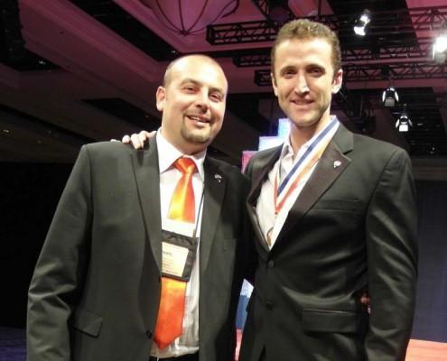 Pavel Hassman - na udílení cen RE/MAX v Las Vegas