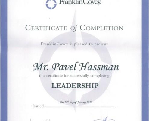 Pavel Hassman - Leadership Franklin Covey