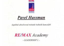 Pavel Hassman - REMAX Academy 1